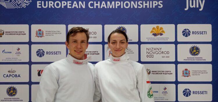 6 miejsce Natalii Dominiak i Łukasza Gutkowskiego w sztafecie mieszanej na zakończenie Mistrzostw Europy seniorów